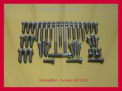 Yamaha XJR 1300 Schrauben-Kit Edelstahl V2A Schraubensatz Motorschrauben XJR1300