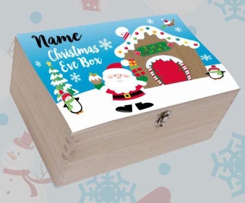 Christmas Eve Box Personalised Christmas Box Sticker digital print sticker DIY
