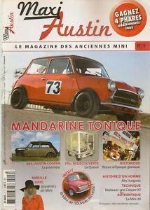 Candide Maxi Austin 9 Austin Cooper Mki Mini 40 Mkvii Quasar Unipower Mini F2000 12 Mode Attrayante