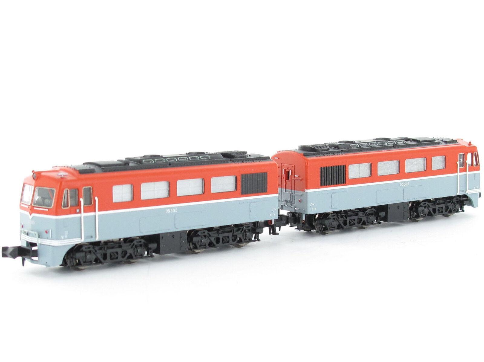 Microce a8909 - dieselok dd50 - 2 dopelektrook - Spur n - neu