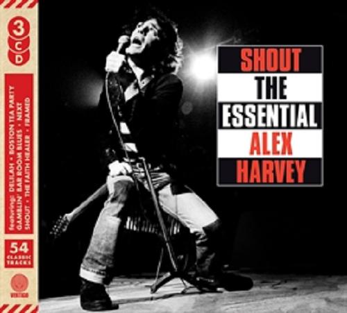 THE SENSATIONAL ALEX HARVEY BAND SHOUT THE ESSENTIAL 3 CD SET - New Release 2018