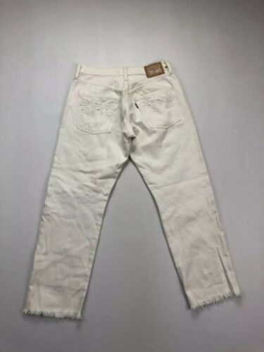 Condition Women's Great L26 501 W26 Jeans Hvid Levi's FxAa76Yqwy