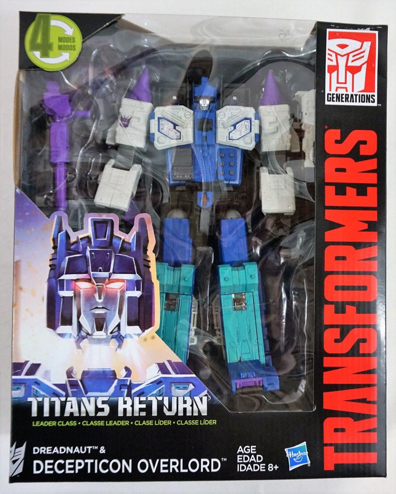 NEW (Unopened) HASBRO Transformers Titans Return Dreadnaut & Deception Overlord