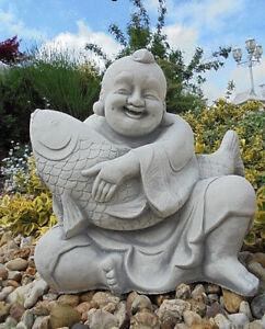 Steinfigur Gartenfigur \