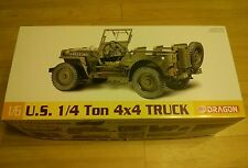 Dragon US 1/4 TON 4x4 TRUCK - 1:6 scale - New in box in sealed bags + stickers