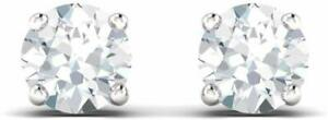 Pendientes-con-Solitario-Zafiro-Blanco-2Ct-en-plata-esterlina-925