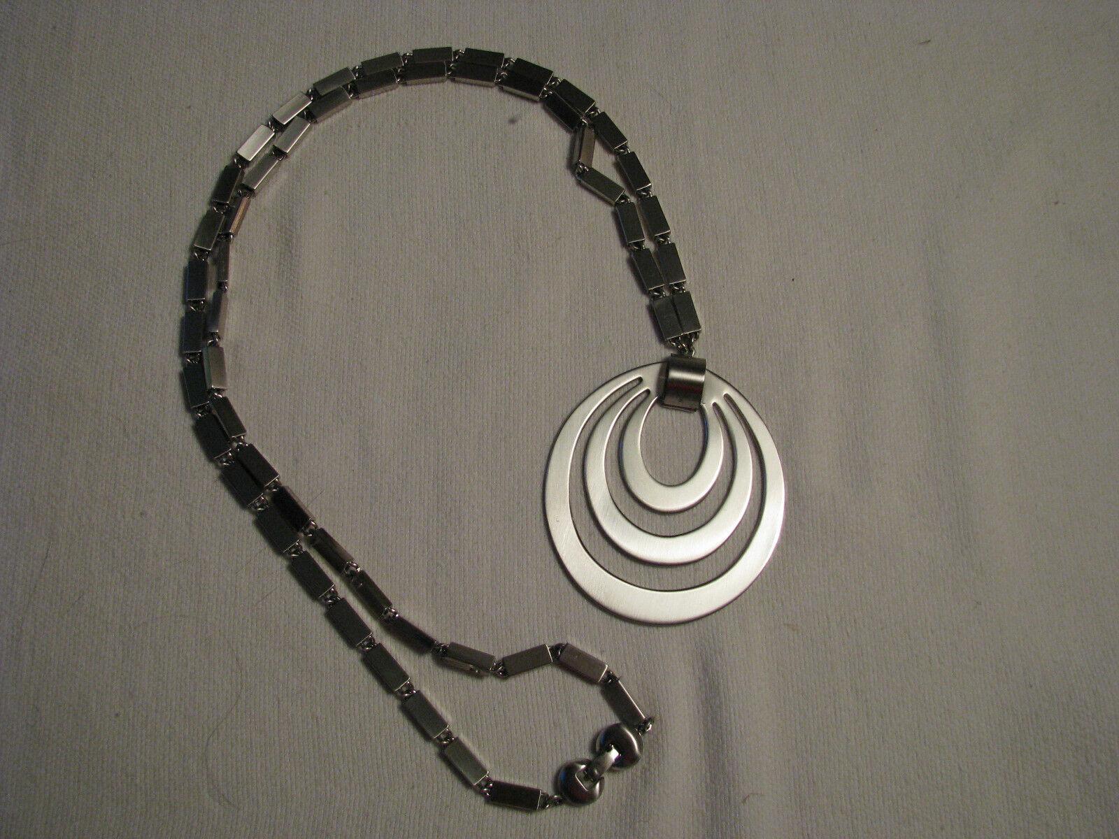 30 MONET silver necklace.