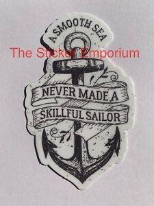 Fishing Boating Boat Ocean Sticker ~ Water Bottle ~ Laptop ~ Tumbler Vinyl Decal