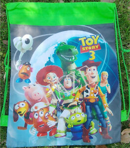 Disney-Backpack-Swimming-Clothes-Environmental-Toy-Kid-039-s-Drawstring-Bag-Useful