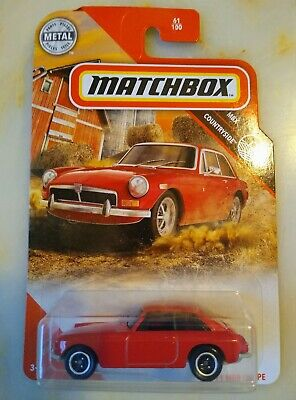 2020 Matchbox MBX Countryside 1971 MGB GT Coupe #61