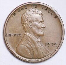 1909 VDB Lincoln Wheat Cent Penny LOWEST Prices - Choice Coin