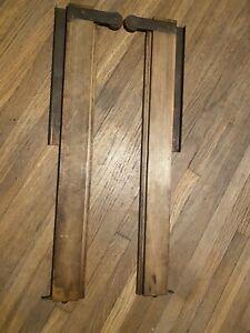 Antique Oak File Cabinet Drawer Slides