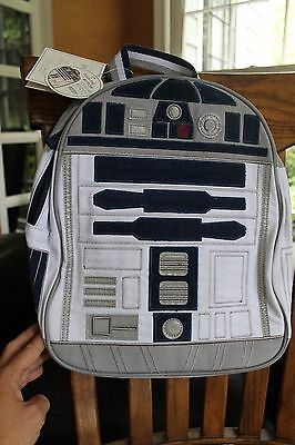 NWT Pottery Barn Kids Star Wars Pre K Mini R2D2 Backpack with SOUND Droid