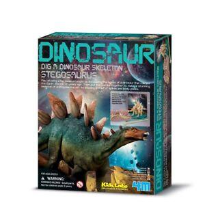 4m Dig A Dinosaur Squelette Stégosaure: Kidz Labs Ages 8 Plus Ndx2irbb-07182117-497745367
