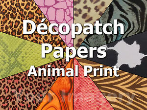 Image is loading Decopatch-Paper-Full-Sheets-for-Decoupage-Choose-from- & Decopatch Paper Full Sheets for Decoupage Choose from Many Animal ...