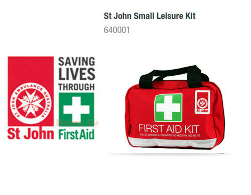 St John's Emergency Medical First Aid Kit Home Car Office Workplace boat Travel