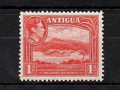 Stamps Antigua & Barbuda (until 1981) Persevering Antigua 1938 King George Vi 1p Scarlet Mint Unchecked W/mark Mnh Stamp