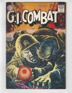 G-I-Combat-82-Silver-Age-DC-War-Comic-Book-Grey-Tone-Cover-VG