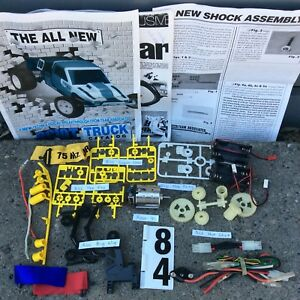 Tamiya-Vintage-Parts-LOT-RC10T-Super-Shot-Fox-Big-Wig-Hot-Shot-Roar-91-Frog