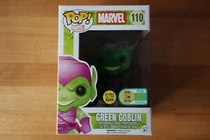 Sdcc 2016 Exclusive Marvel Green Goblin N ° 110: Funko Pop brillant dans le noir Gitd