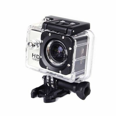 Foto & Camcorder UnabhäNgig 1080p Hd 30m Waterproof Action Camera Siver With Free 32gb Sd Card Worth £19.99 VerrüCkter Preis