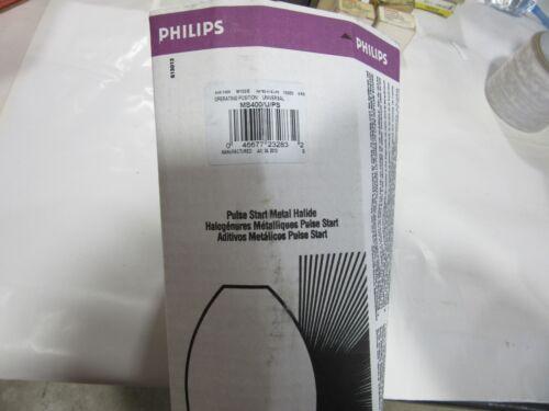 Philips 23283 Metal Halide Lamp 400W Pulse Start Mogul BD-37 MS400//U//PS USA NEW