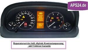 Mercedes-Benz-A-Klasse-W169-Display-defekt-Tacho-Kombiinstrument-Reparatur