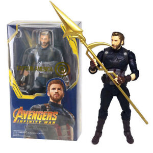 S-H-Figuarts-Marvel-Avengers-Infinity-War-Captain-America-SHF-Action-Figures-Toy
