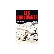 LES SURVIVANTS / Piers Paul READ rugby avion GRASSET 74