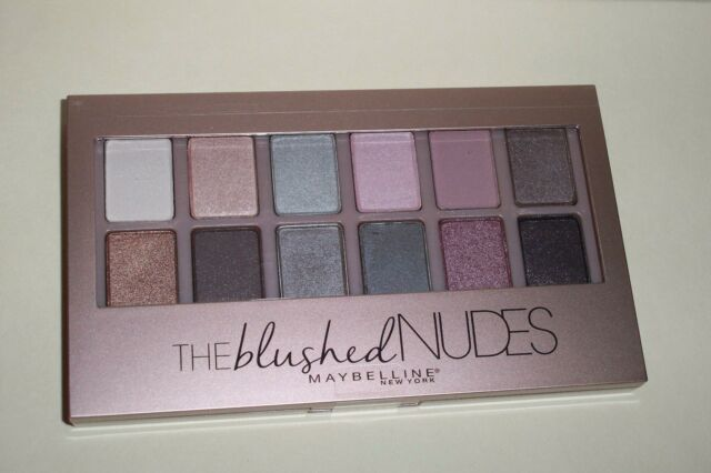 """MAYBELLINE New York  """" THE BLUSHED NUDES """"    Eye Shadow Palette    New Unopened"""