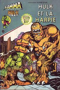 Hulk-N-7-Hulk-et-la-Harpie-Aredit-Marvel-Comics-1979-BE