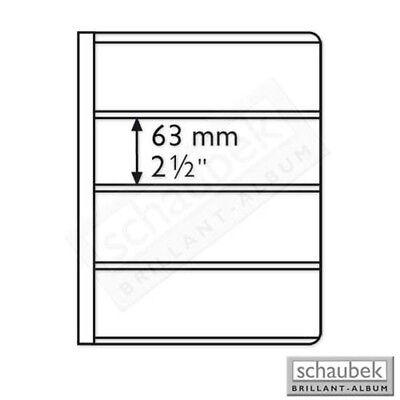 Schaubek Uniflex-album Mit 20 Folienhüllen Eb63 Blau A-uniflex/3/63 Hoher Standard In QualitäT Und Hygiene Klebefälze & Klebestreifen Zubehör