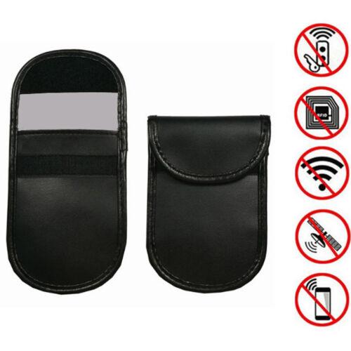 Car key signal blocker case faraday cage fob pouch keyless rfid blocking bag up