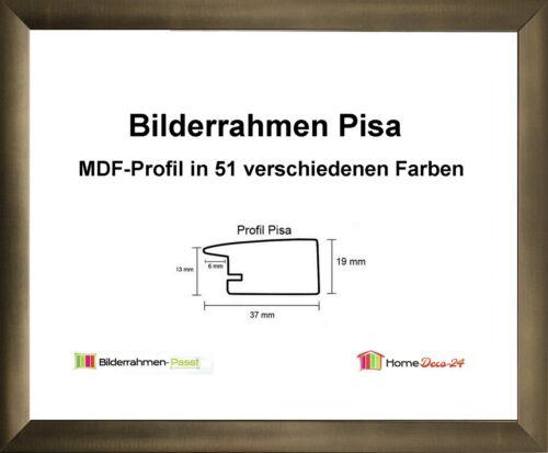 Pisa MDF Cadre Photo Métal II de 60 x 80 à 60 x 89 cm