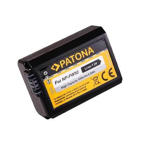 Profi set 6000 dual cargador para Sony ILCE alfa 6000 2x batería np-fw50