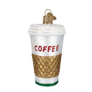 Old-World-Christmas-COFFEE-TO-GO-32171-N-Glass-Ornament-w-OWC-Box