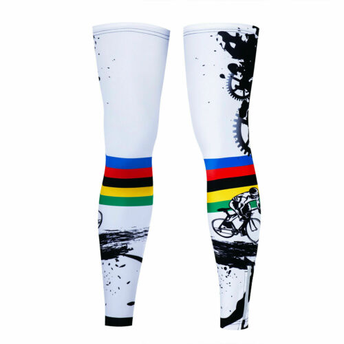 Women/'s Men/'s Cycling Leg Warmer Outdoor Sport Cycle Knee Leg Sleeve Compression