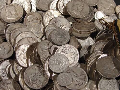 Silver Coin 5 Standard Ounces Lot 90/% Silver U.S