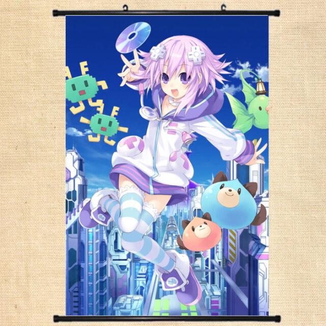 Hyperdimension Neptunia Re Game Anime Silk Wall Scroll Poster 24x36 inch 03