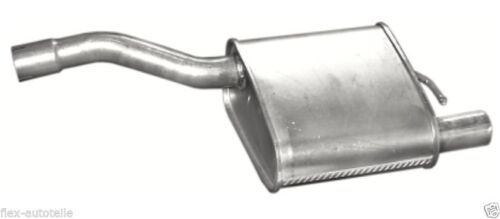 04 DBW 2,0 16 V berline Endschalldämpfer du silencieux d/'échappement arrière FORD FOCUS DAW