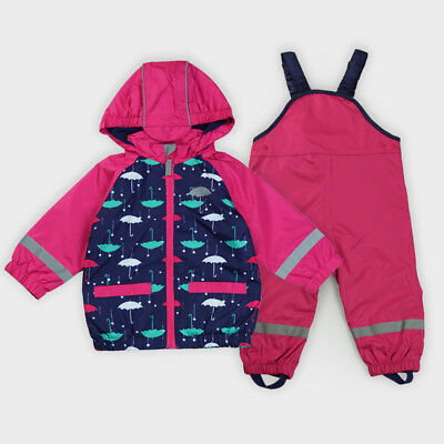 discount collection quality products release date: Kids Waterproof Windproof Baby Girl Jacket Suit+Overalls Reflective  Raincoat | eBay