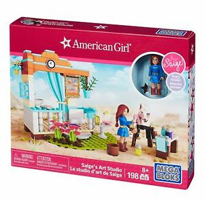Mega-Bloks-American-Girl-Saig-039-s-Art-Studio-198-piezas