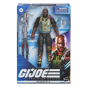 G.I. Joe Classified Series Roadblock 6 Action Figure NEW
