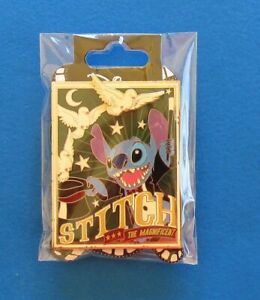 Disney-Pin-DSF-DSSH-Magic-Series-Stitch-The-Magnificent-Magician-LE300