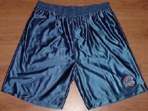 Chicago-Cubs-Athletic-Shorts-Large-Blue-Embroidered-Logo-MLB
