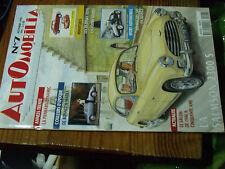 10µ? Revue Automobilia n°7 Salon 1946 Salmson 2300 S Racers 500 De Bonnet Matra