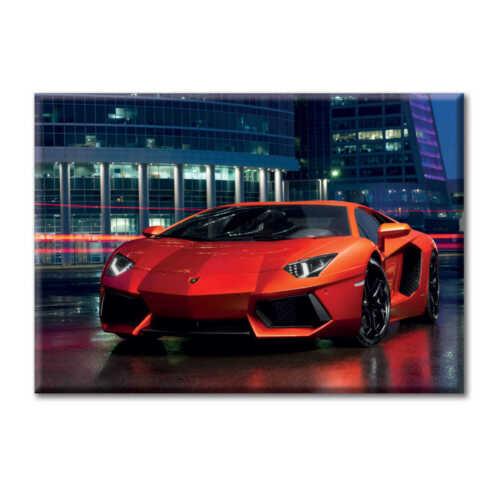 Quadro Tela Canvas Auto Automobile Sportiva Aventador Arancio  KiarenzaFD Citt