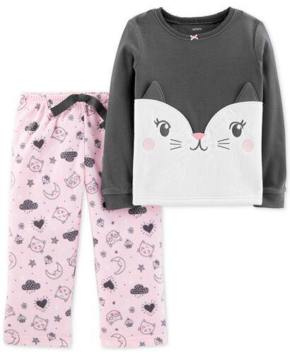 Fleece Pajama Sleeper Sleepwear 2T 5T New Carters Toddler Girls One Or 2-pc