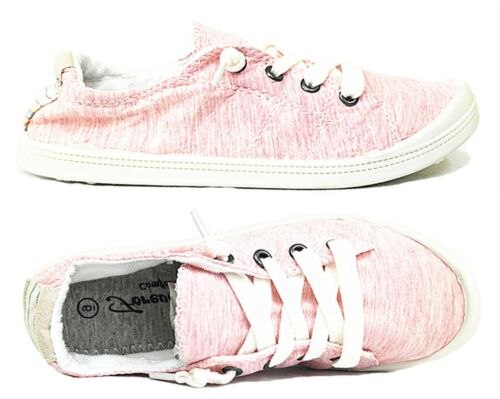 Forever Link Comfort Women/'s Lace up White Sole Casual Street Sneakers Shoes