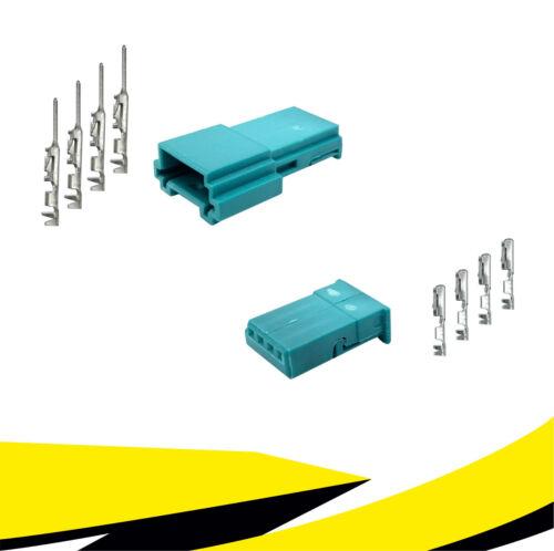 Stecker 4-polig Reparatursatz 61132359994 61136925611 für BMW MQS Crimp Buchse